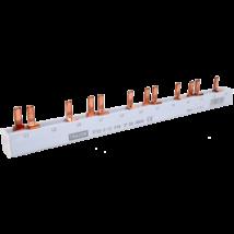 Tracon Soroló sín - csapos kivitelű max.63A, 230/400VAC, 3P, 12modul, 215mm TFSS-3-12