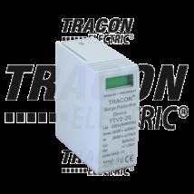 Tracon DC túlfszültség levezető betét TTV2-40-DC-600-M