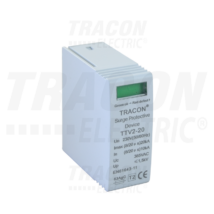 Tracon DC túlfszültség levezető betét, 2-es típus, varisztoros TTV2-40-DC-600-V