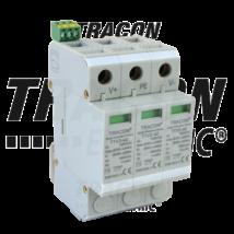 Tracon DC túlfeszültség levezető PV rendszerhez; 2-es típus; 3modul TTV2-40-DC-1000