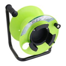 Tracon ÜRES műanyag kábeldob fémvázzal max: 25m H05VV-F KT-DOB