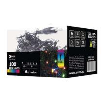 Emos klasszikus karácsonyi fényfüzér 5m 100LED színes IP20 ZYK0106
