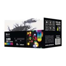 Emos cherry színes karácsonyi fényfüzér 5m 100LED IP20 ZYK0206
