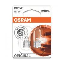 Osram Original Line autó izzó 2825 W5W jelzőizzó 2db/bliszter