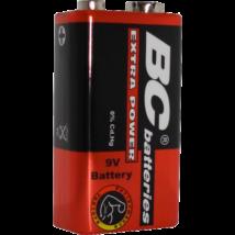 BC féltartós alkáli elem 9V C6F22/1P Extra Power