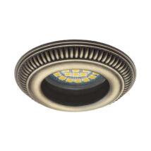 Kanlux álmennyezeti beépíthető spotlámpa antik bronz lámpatest Anafi CT-DSO50-AB