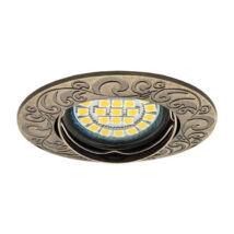 Kanlux álmennyezeti beépíthető spotlámpa antik bronz lámpatest Urtica CT-DTO50-AB