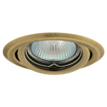 Greenlux Álmennyezeti beépíthető halogén spot lámpa billenthető matt sárgaréz lámpatest  AXL 2115-BRM Greenlux GXPP033