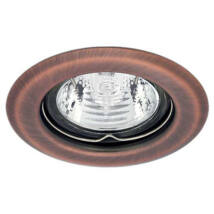 Kanlux álmennyezeti beépíthető spotlámpa réz lámpatest Argus CT-2114-AN