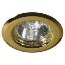 Kanlux álmennyezeti beépíthető spotlámpa arany lámpatest Argus CT-2114-G