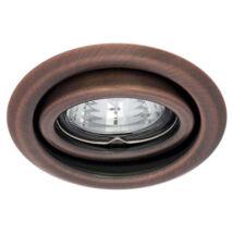 Kanlux álmennyezeti beépíthető spotlámpa billenthető 15° réz lámpatest Argus CT-2115-AN