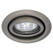 Kanlux álmennyezeti beépíthető spotlámpa billenthető 15° matt króm lámpatest Argus CT-2115-C/M