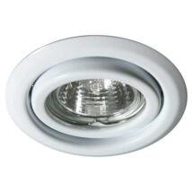 Kanlux álmennyezeti beépíthető spotlámpa billenthető 15° fehér lámpatest Argus CT-2115-W