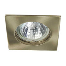 Kanlux álmennyezeti beépíthető spotlámpa antik réz lámpatest Navi CTX-DS10-AB
