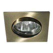 Kanlux álmennyezeti beépíthető spotlámpa billenthető antik réz lámpatest Navi CTX-DT10-AB