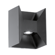 MORINO LED kültéri fali lámpa LED-MODUL 2X2,5W 360 lm andtracit IP44 93319 EGLO