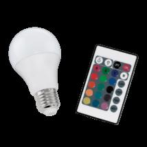 EGLO E27-LED színváltós-A60 fényforrás 7,5 Watt 16 féle szín 10899