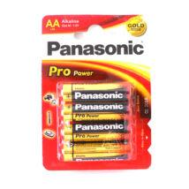 Panasonic TARTÓS! alkáli elem Pro-power ceruza elem AA 1.5V LR6 /4 db/csomag/