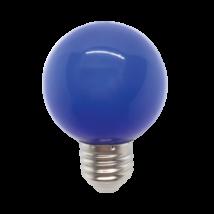 Elmark LED lámpa-izzó gömb G45 E27 3W kék 99LED822