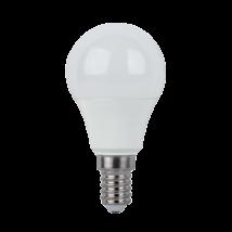 Elmark led lámpa izzó kisgömb G45 8W E14 3000K 800Lm meleg fehér opál búra 99LED913