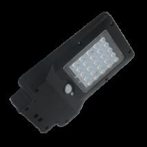 Elmark Solar LED 4W 400Lm utcai megvilágító street lámpa érzékelővel 4W 6000K IP65 98SOL100