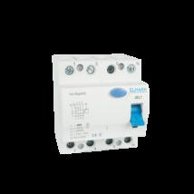 4P Fi relé 25A 30mA AC érintésvédelmi relé áramvédő kapcsoló Elmark 40421