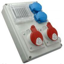 Ipari elosztótábla ROS-I 1602 A/S IP44 SEZ