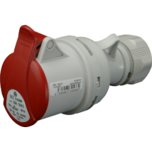 SEZ Ipari lengő csatlakozó aljzat dugalj 5 polusú 32A IP44 ISN 3253 DAFH-324