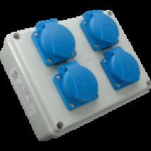 Ipari elosztótábla 4x16A ROSP 4 VZ/S