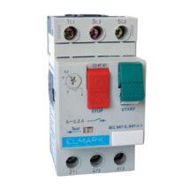 Elmark kézi működtetésű motorvédő kapcsoló TM2-E10 4-6,3A 48010