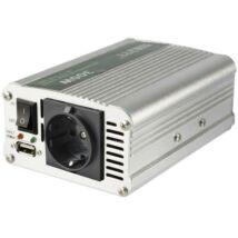 Feszültségátalakító, 300/600W, USB töltőaljzat SAI 600USB Somogyi