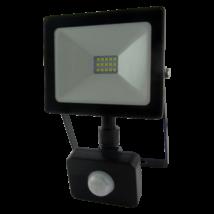 LED Fényvető reflektor 10W SMD mozgásérzékelővel 800 Lm 4200K természetés fehér SLIM (Tr)