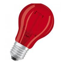 Osram LED Star A Decor filament lámpa-izzó E27 2W piros