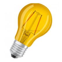 Osram LED Star A Decor filament lámpa-izzó E27 2W sárga