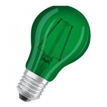 Osram LED Star A Decor filament lámpa-izzó E27 2W zöld