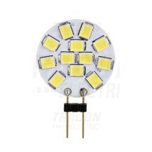 Tracon LED lámpa-izzó G4 2W 4000K természetes fehér 140 lumen LG4K2NW