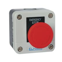 Elmark EL1 - B174 gombafejes tokozott vészleállító gomb IP44 (vészgomb) 401174