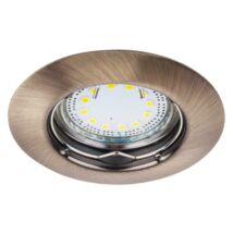 R.1048 Lite kör spot fix GU10 LED 3x3W bronz
