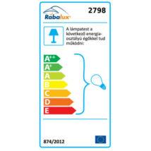 R.2798 Oz függeszték E27 60W ezüst