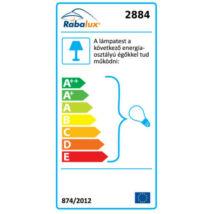 R.2884 Meda  függeszték E27 3x60W, ezüst