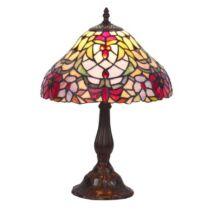 R.8090 Mirella asztali lámpa E27 60W tiffany