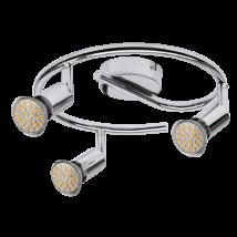 Norton LED 3-as spot lámpa GU10 3x3W fényes króm Rábalux 6989