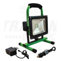 Tracon hordozható akkumulátoros led reflektor-fényvető 20W 4500K természetes fehér RSMDAE20W