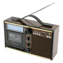 Retro kazettás rádió RRT 11B Somogyi Sal