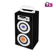 Hordozható multimédia hangszóró MP3/FM rádió BT 2800/BK