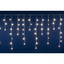 Somogyi LED-es 200 db sorolható fényfüggöny meleg fehér jégcsap 5m DLFJ 200/WW