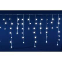 Somogyi LED-es 400 db sorolható fényfüggöny hideg fehér jégcsap 10m DLFJ 400/WH