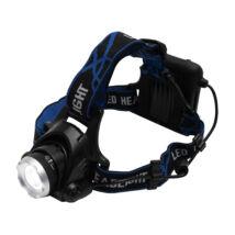 Somogyi  LED-es fém fejlámpa 3 funkció ZOOM 800 lumen HLM 4