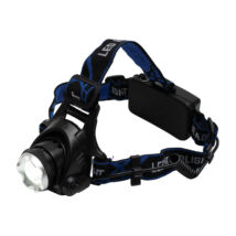 Somogyi  LED-es tölthető fém fejlámpa 3 funkció ZOOM 1000 lumen 1200 mAh 3,7 V HLM 5R
