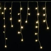 Home LED-es jégcsap fényfüggöny 8 programos 10m IP44 karácsonyi dekoráció 230V KAF 200L 10M/WW